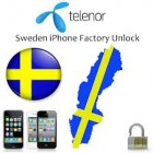 Sweden - Telenor  iPhone 3GS,4G,4S,5,5С,5S (Only Clean IMEI)