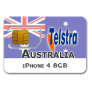 Australia - Telstra iPhone 4 8GB only
