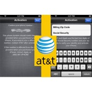 USA AT&T iPhone 6/6+/6S/6S+/SE/7/7+/8/8+/X/XR/XS/XS Max Billing ZIP and SSN Last 4-Digit Activation Service