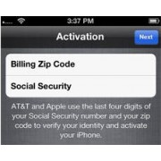 Verizon USA iPhone 4,4S,5,5S,5C,6,6+ Billing zip code | SSN Last 4